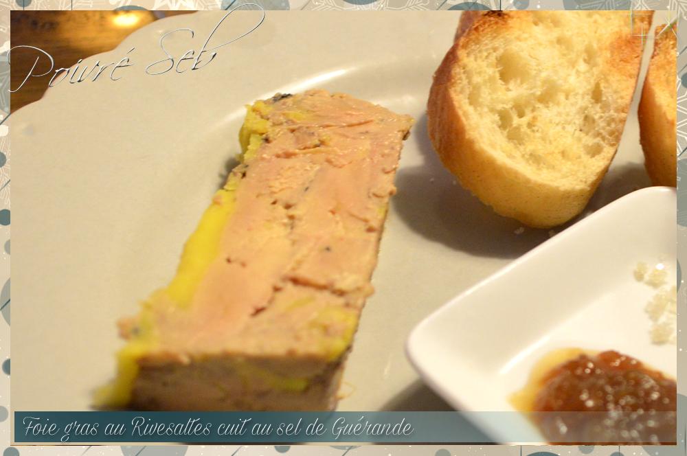 foie gras au rivesaltes ambr cuit au sel de gu rande. Black Bedroom Furniture Sets. Home Design Ideas