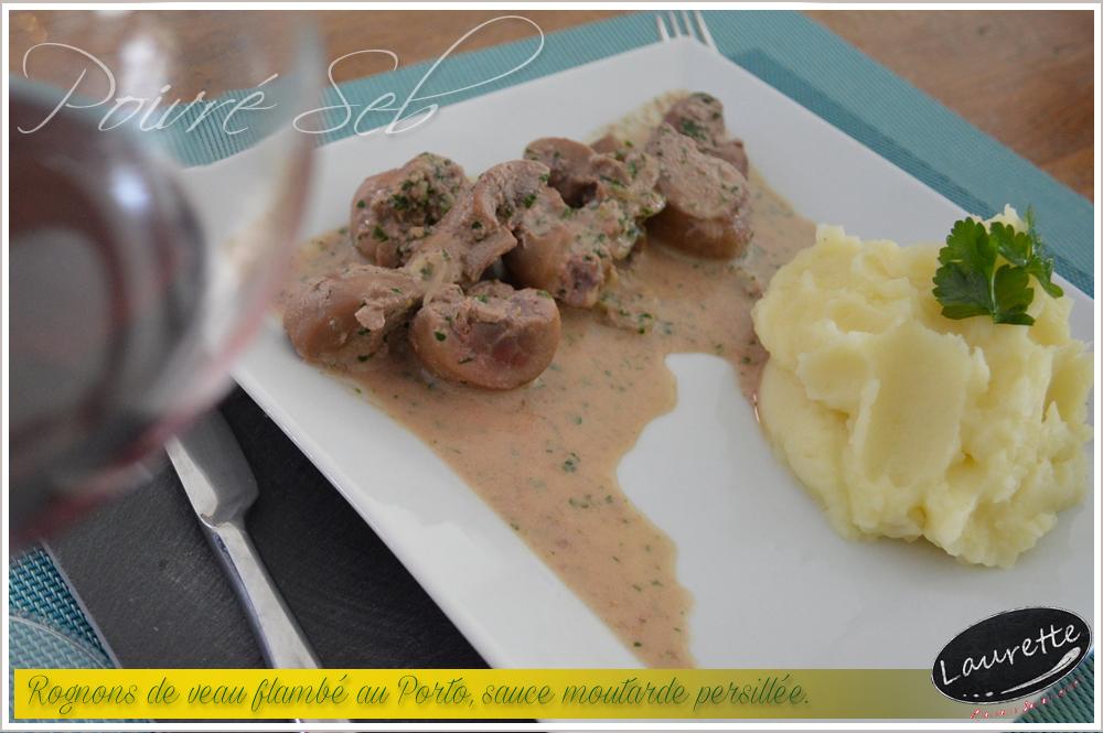 Cuisiner rognons de veau rognons de veau flambs au porto - Cuisiner tendron de veau ...